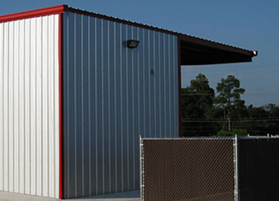 Canopies & Facades | Arco Steel Building Systems