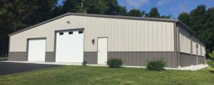 100 x 100 steel building-options