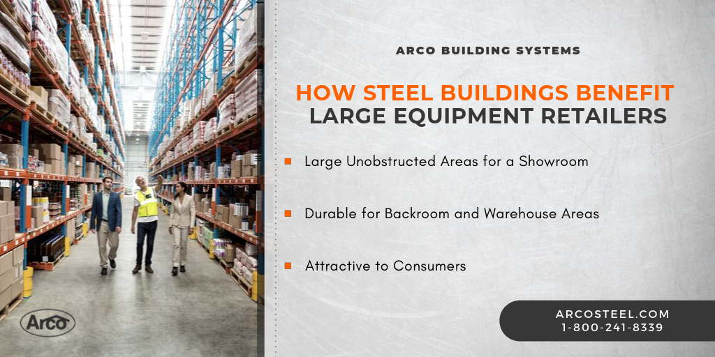 100 x 100 Steel Building_Retail_Graphic