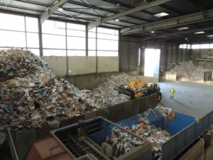 100 x 300 steel building_Recycling Center