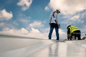 100 Foot Steel Building_Roof Maintenance