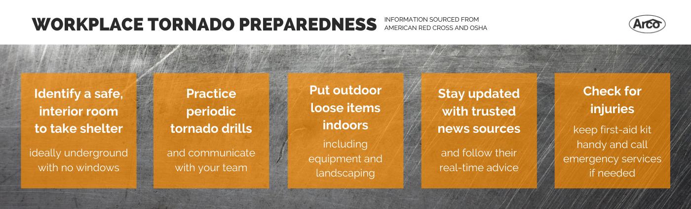 Workplace Tornado Preparedness