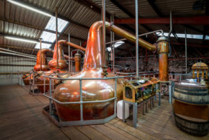 10000 square foot steel building distillery