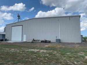 80 x 100 steel building south carolina exterior
