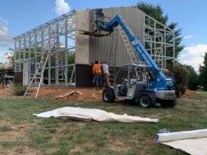 steel building 100 x 200