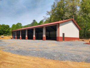 Mike Dvorak_Steel Building